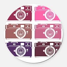 photoGIRLS Round Car Magnet