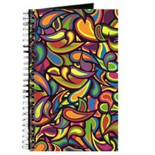 Colorful Crazy Paisley Journal