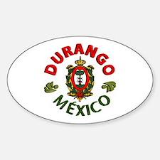 Durango Oval Decal