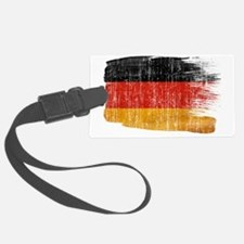 Germanytex3-paint style aged cop Luggage Tag