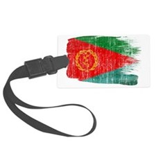 Eritreatex3-paint style aged cop Luggage Tag