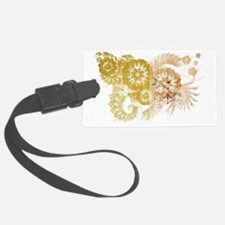 vatican city textured flower age Luggage Tag