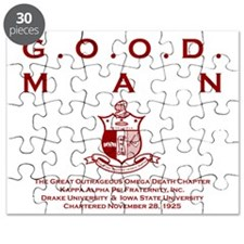 G.O.O.D. Man (Red) Puzzle