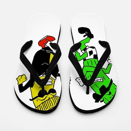 Mustard Pickle Flip Flops