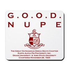 G.O.O.D. Nupe (Red) Mousepad