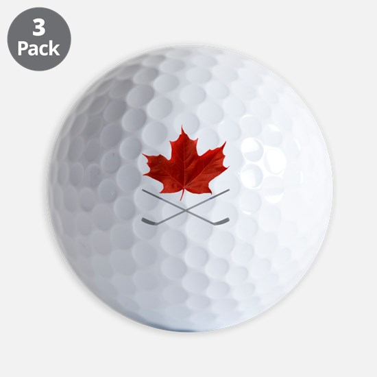 Canada-Hockey-6-whiteLetters copy Golf Ball