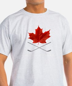 Canada-Hockey-6-whiteLetters copy T-Shirt