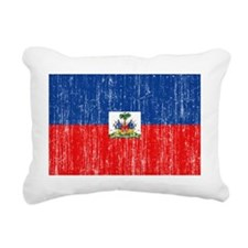 Haiti aged copy Rectangular Canvas Pillow