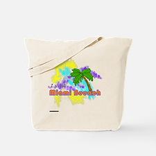 Miami Beeaach Tote Bag