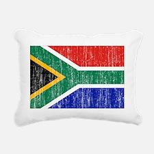 South Africa aged copy Rectangular Canvas Pillow