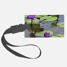 purple lilies2 ks Luggage Tag