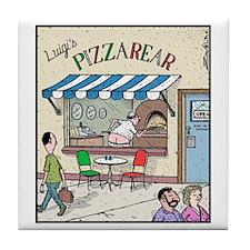 Luigis Pizzarear Tile Coaster