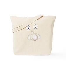 Garlic Face Tote Bag