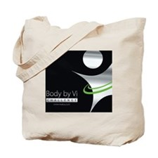Body by Vi Mousepad Black Tote Bag