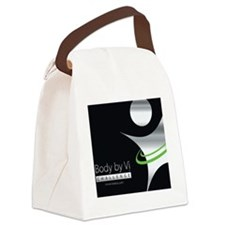 Body by Vi Mousepad Black Canvas Lunch Bag