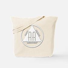 AA_logo_white Tote Bag