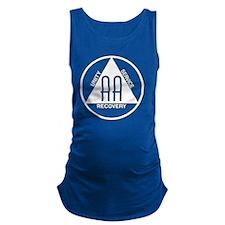 AA_logo_white Maternity Tank Top