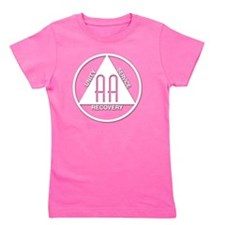 AA_logo_white Girl's Tee