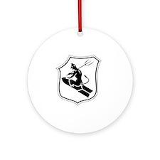 Kampfgeschwader z.b.V. 1 Abzeichen  Round Ornament