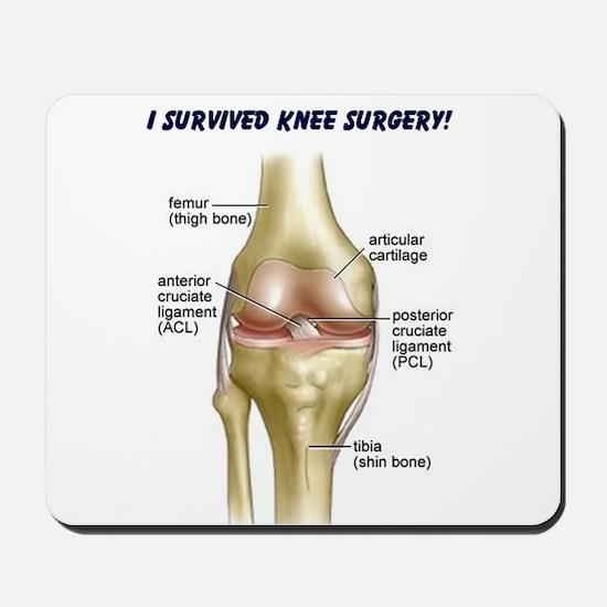 Knee Surgery Gift 9 Mousepad