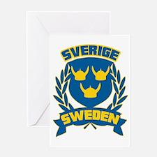 Sweden Greeting Card