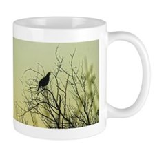 sunset quail (king) Mug