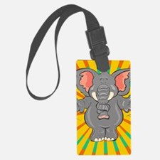 Forgetful Elephant Luggage Tag