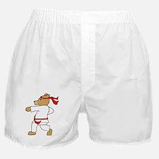Karate Bear Boxer Shorts