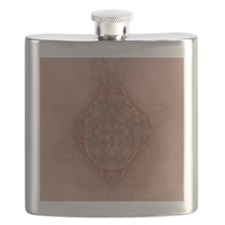 Design Adobe brown (queen) Flask