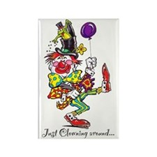 Clowning Around 2 Rectangle Magnet
