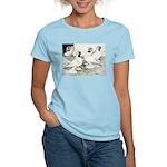 Moorhead Tumbler Pigeons Women's Light T-Shirt
