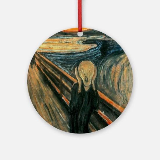The Scream SC Round Ornament