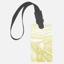 TheScream2Bk.gif Luggage Tag