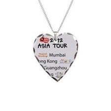 Asia Tour Tee Back Necklace