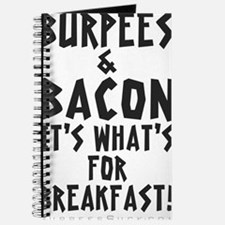 Burpees Bacon - White Journal