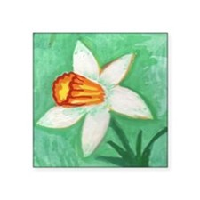 "narcissus Square Sticker 3"" x 3"""