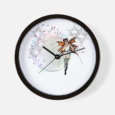 Fairy Amber Wall Clock