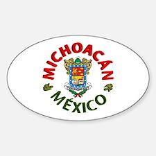 Michoacán Oval Decal