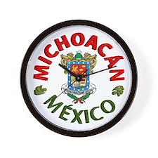 Michoacán Wall Clock