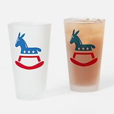 Democrats Rock Drinking Glass