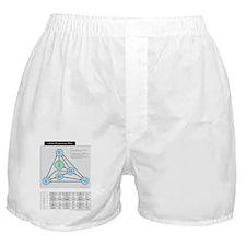 Chord Progression Map Boxer Shorts