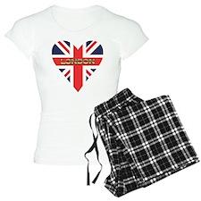 London Heart Pajamas