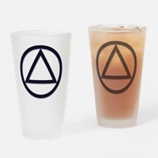 A.A._symbol_LARGE Drinking Glass