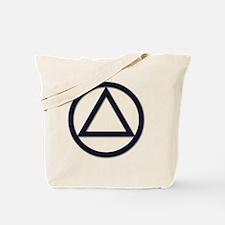 A.A._symbol_LARGE Tote Bag