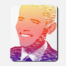 Obama Retro Modern Mousepad