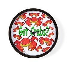 GotCrabs Wall Clock