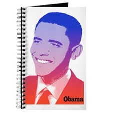 Obama Red White Blue Spirit Journal
