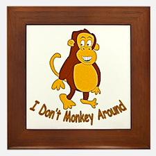 MonkeyAround Framed Tile