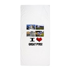Great Pyrenees Beach Towel