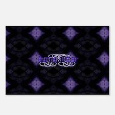 Purple Diamonds Postcards (Package of 8)